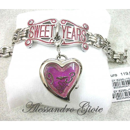 OROLOGIO SWEET YEARS SY.6296L/15M bracciale+orologio due in uno donna