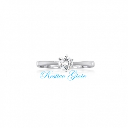 ANELLO SOLITARIO MABINA IN ARGENTO CON ZIRCONE 523018 dealer 2JEWELS