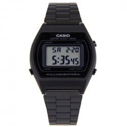 Casio nero B640WB-1ADF digitale in acciaio