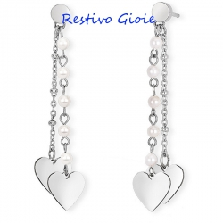 Orecchini donna 2Jewels Desiree' ref. 261300 con perle