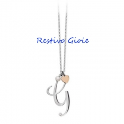 Collana donna in acciaio 2Jewels Lettere D'Amore ref. 251619G