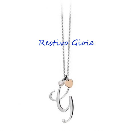 COLLANA DONNA IN ACCIAIO 2JEWELS LETTERE D'AMORE REF.251619G