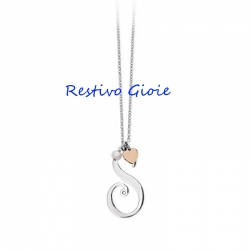 COLLANA DONNA IN ACCIAIO 2JEWELS LETTERE D'AMORE REF.251619S
