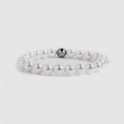 Bracciale Marlù con perle sintetiche mm 8 ref. 15Br031-8