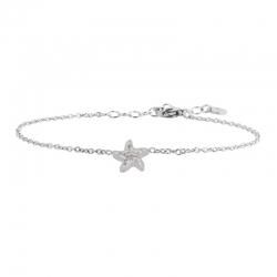 Bracciale in acciaio Marlù con stella marina ref. 18BR082
