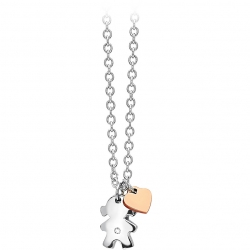 Collana girocollo donna 2Jewels Puppy ref. 251529 bimba